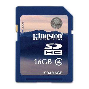 Kingston SD Card 16GB