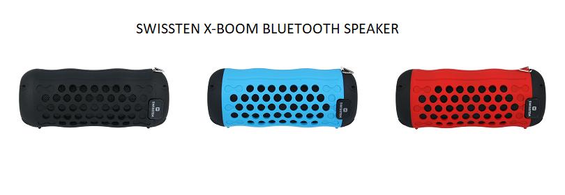 Swissten X-Boom Outdoor Bluetooth Speaker