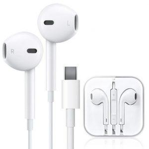 type c wired headphone